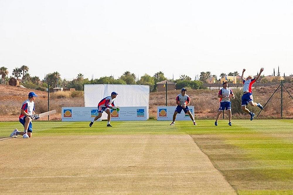 'Close Fielding Practice Session' at the Desert Springs Cricket Academy