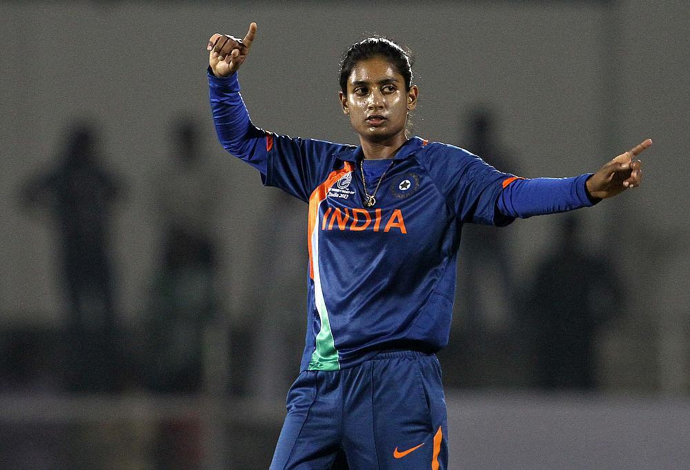 Mithali Raj guides India to eight-wicket win