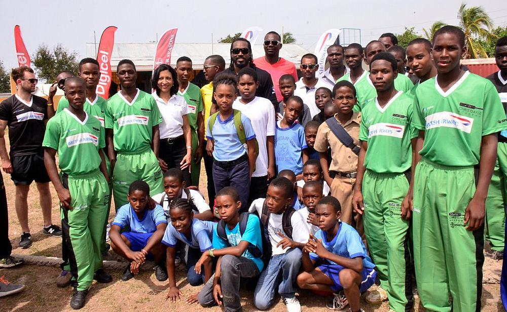 The Chris Gayle Academy in Jamaica