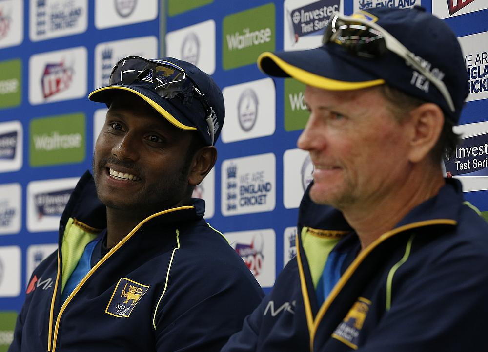 Captain Angelo Mathews and coach Graham Ford have their work cut out to beat England this summer