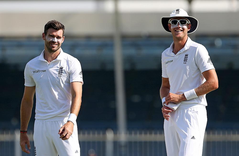 James Anderson and Stuart Broad - England's twin threats with the new ball