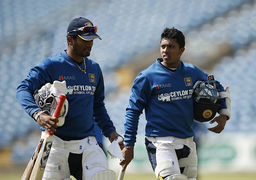 Kusal Mendis (right) is one youngster who needs to step and perform well