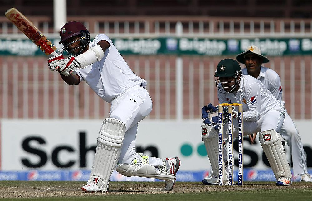 why the new west indies 31st over: west indies 93-3 (s hope 35, chase 3) england crowd chase for the final over of the day, with four slips, a gully, short leg and leg slip it's not a great over, however, and chase.