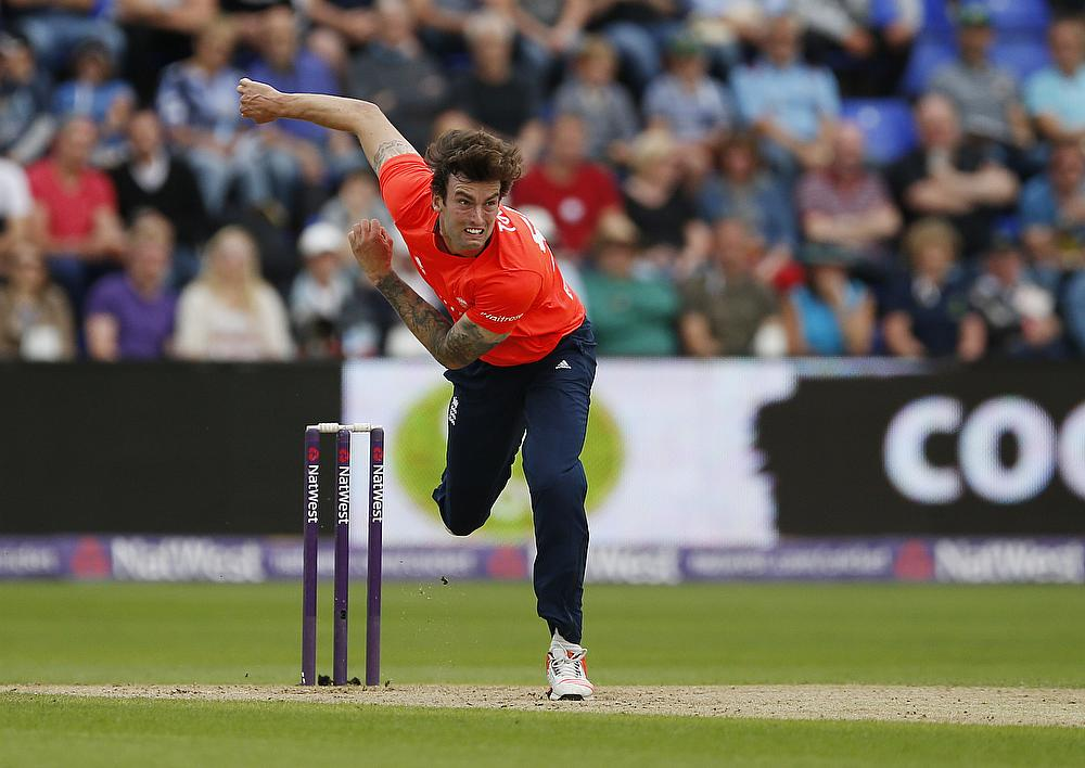 Reece Topley joined Hampshire from Essex last year