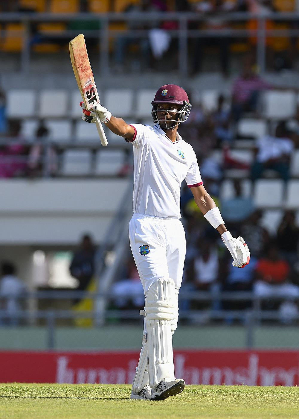 Roston Chase was in outstanding form in the Dominica Test