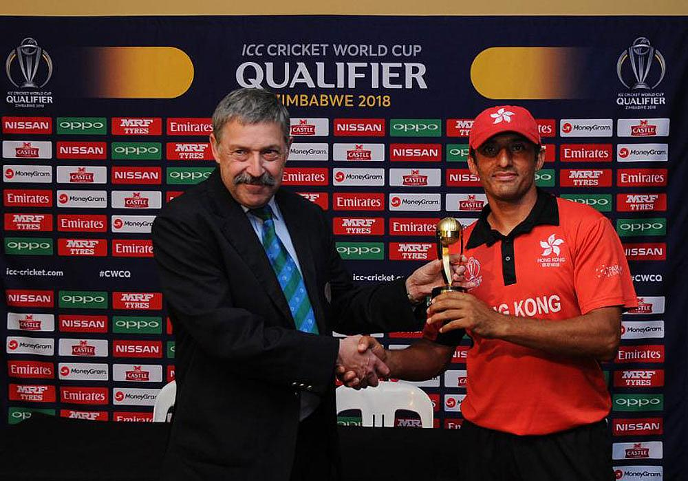 Ehsan Khan gets the player of the match
