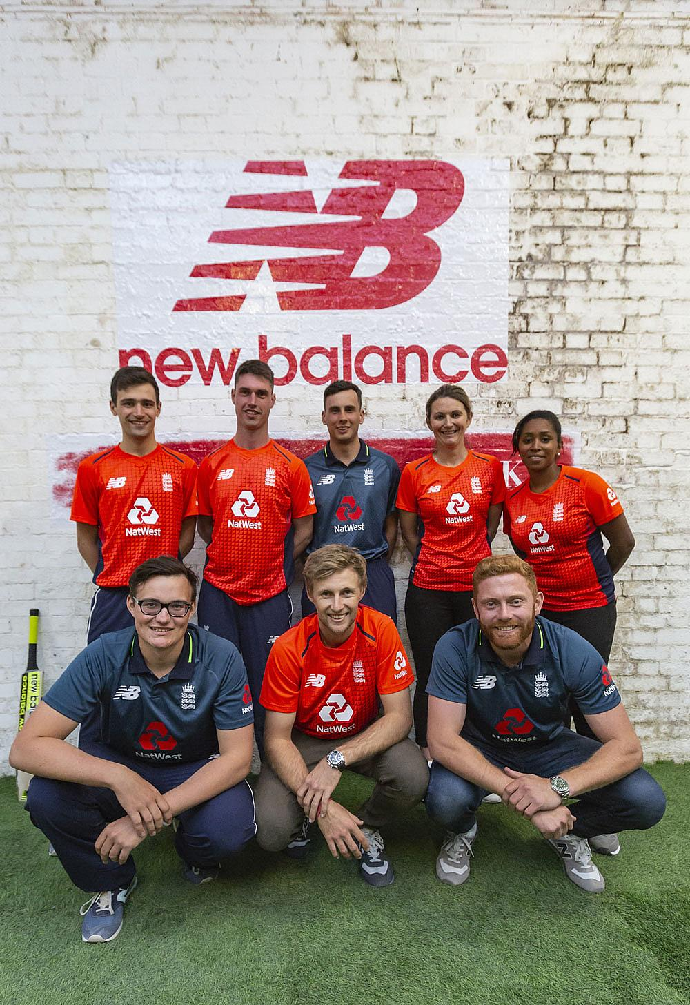bfc8e42060f New Balance unveils official England Cricket kit with Make Your Mark  campaign launch