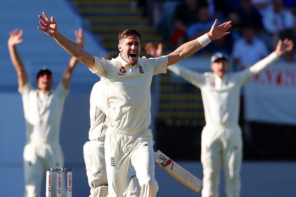 England's Chris Woakes appeals unsuccessfully