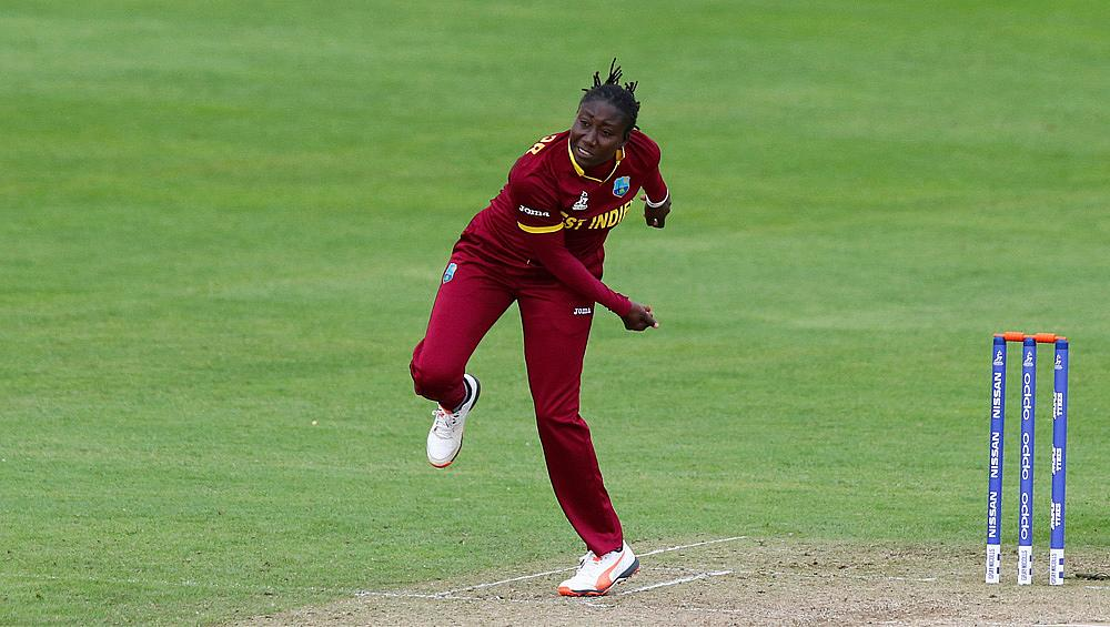 Stafanie Taylor in action for West Indies Women