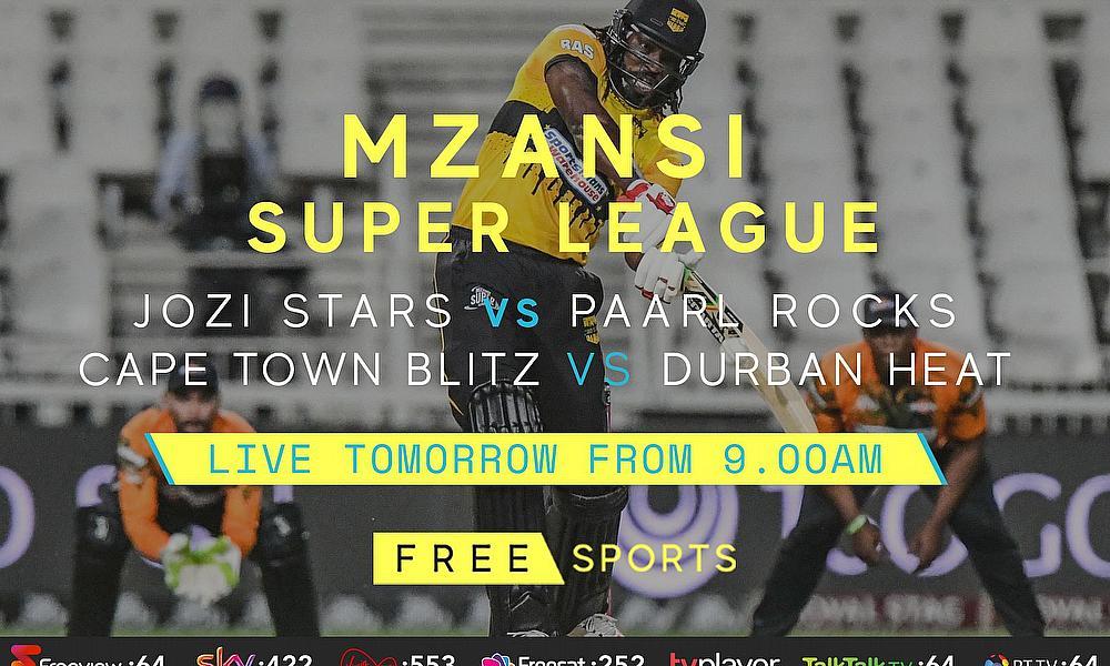 Live Cricket Streaming – Mzansi Super League and Australia v India