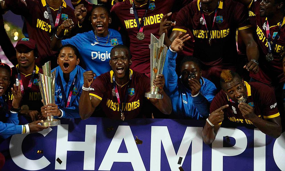 Final between West Indies and England in the ICC World Twenty20