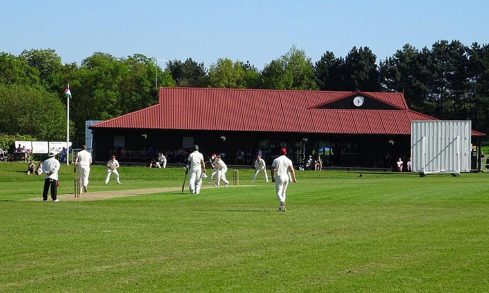Harlow CC new and impressive cricket pavilion (built in 2017) Thanks to a substantial lottery grant via Sport England