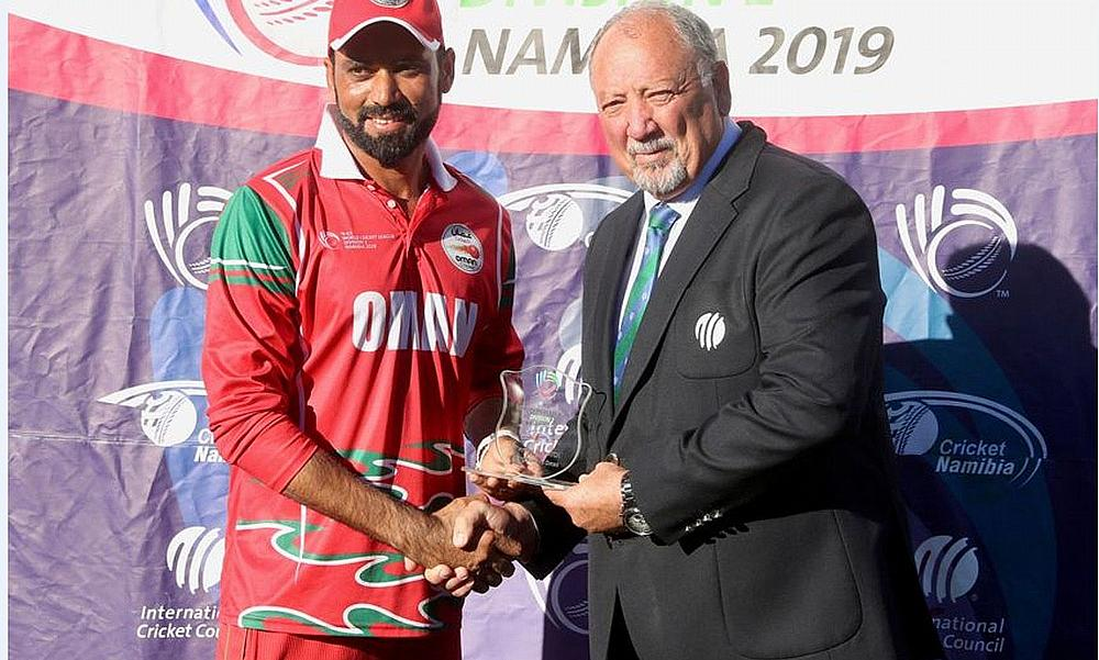 Bilal Khan was the Player of the Match