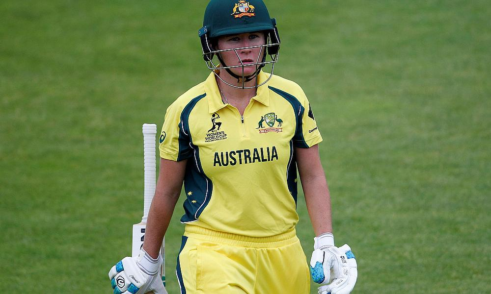 Beth Mooney Speaks During Ashes Preparations