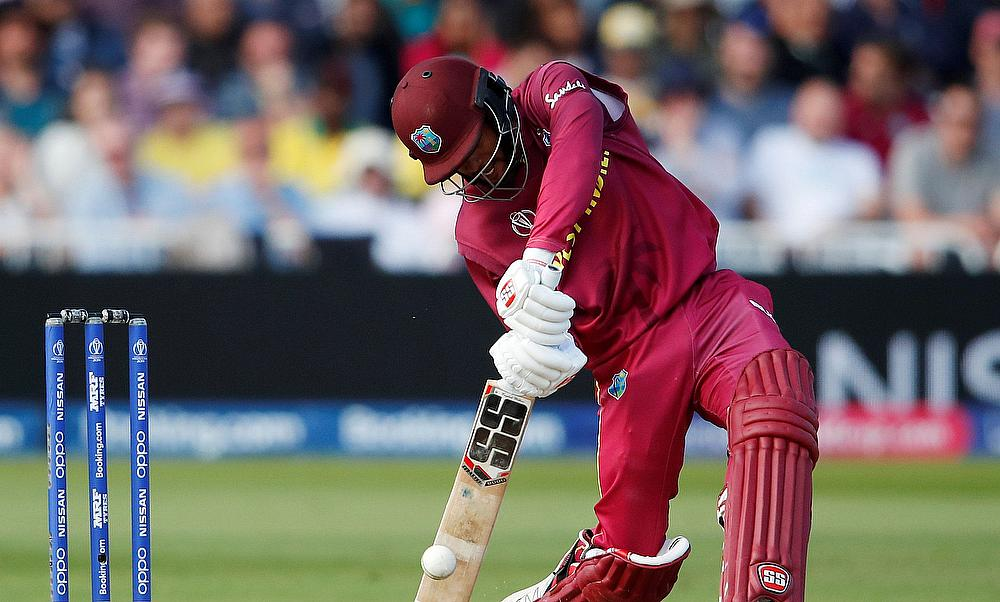 ICC Cricket World Cup - Australia v West Indies - Trent Bridge, Nottingham, Britain - June 6, 2019 West Indies' Shai Hope in action