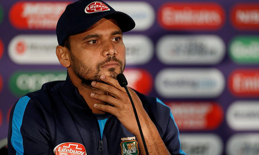 Mortaza Believes Bangladesh Can Tame the West Indies Pace Attack