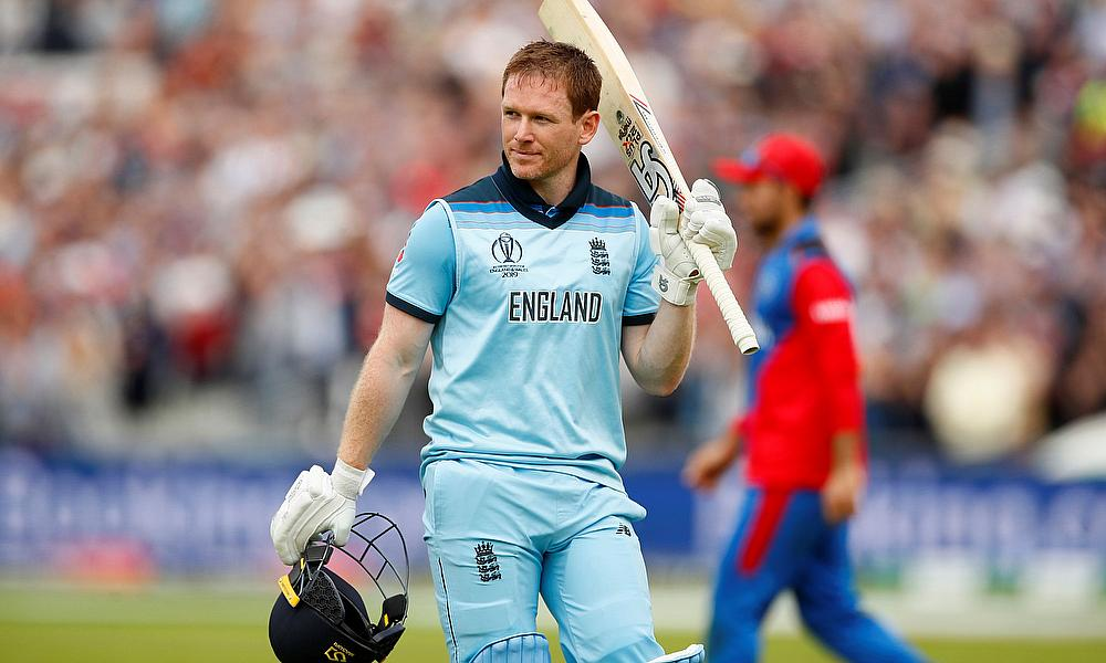 Never have I ever thought I could play a knock like that'' - Eoin Morgan