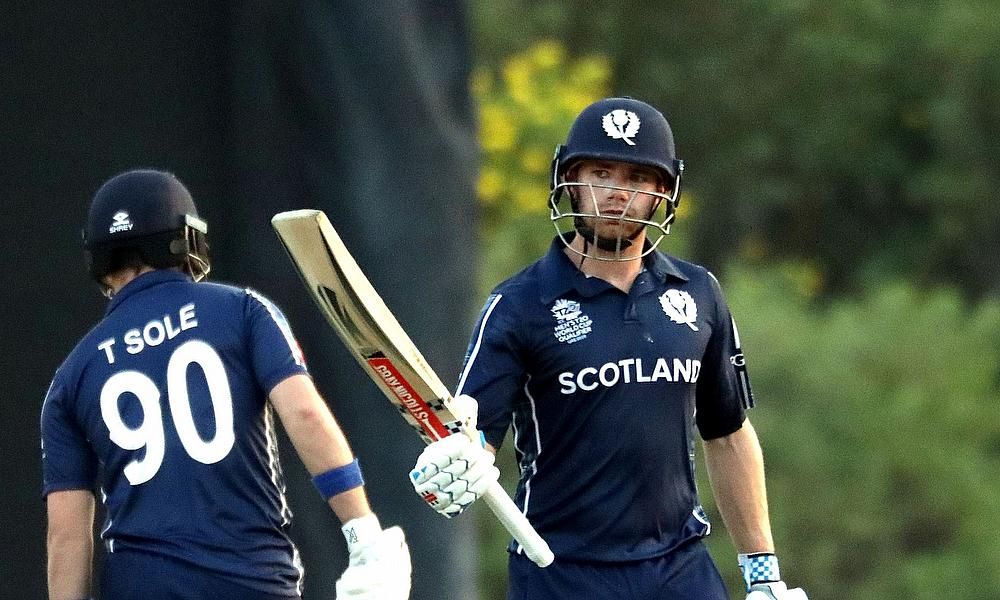 Matthew Cross inspired Scotland to victory over Oman in their final game at the ICC Men's T20 Qualifiers.