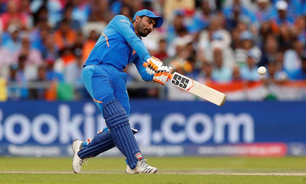 Who would have predicted that: 1st tied ODI between India and New Zealand sees Ravindra Jadeja fall just short
