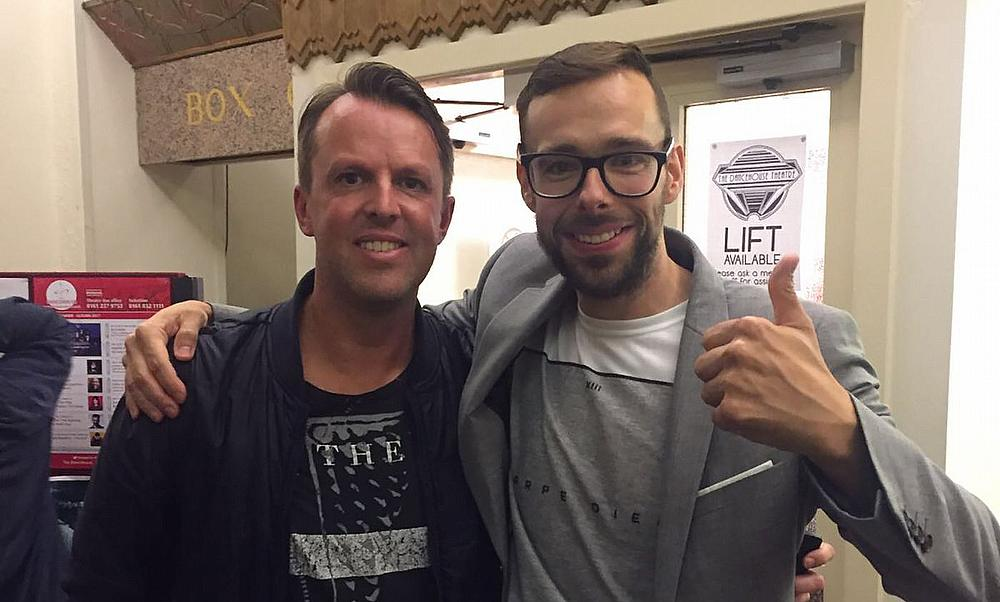 Graeme Swann photograph was taken at the Manchester Dancehouse on Friday 27th October 2017