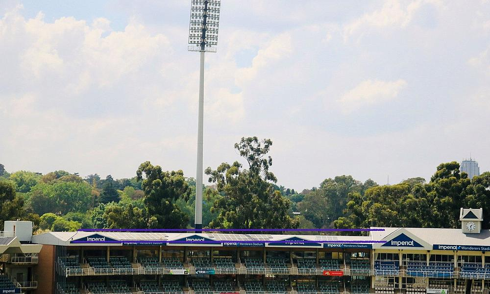 The Imperial Wanderers Stadium in Johannesburg 'Goes Green'