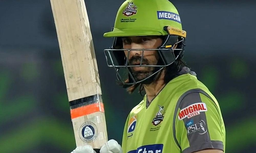 David Wiese 3-27 and 48* for Lahore Qalandars