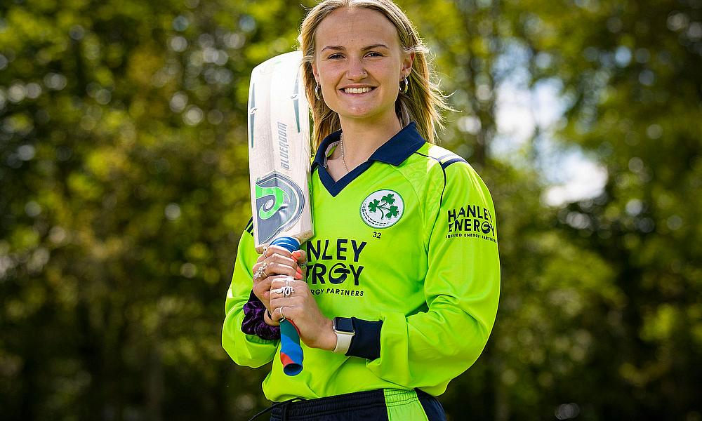 Gaby Lewis makes history as Ireland start Qualifier tournament with big win