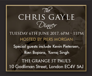 Chris Gayle Gala Dinner