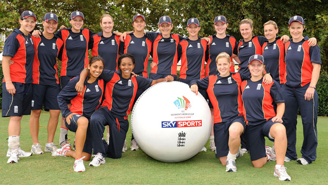 England Women keep their eyes on the ball